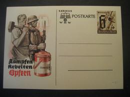 Deutsches Reich Ganzsache- 2. Kriegs Postkarte Ungebraucht - Stamped Stationery