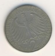 BRD 1958 G: 2 Mark, KM 116 - 2 Mark