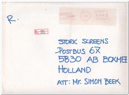 Denemarken 1986, Registered Letter From Ikast To Boxmeer, Netherland - Cartas