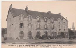 56 PLOERMEL  Hôtel De Bretagne Et De La Gare    M.PUISSANT Propriétaire  Tel 45    TB PLAN   RARE - Ploërmel