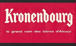 Chapeau Publicitaire En Papier.  KRONENBOURG, Bière D'Alsace. - Casquettes & Bobs