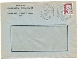 MANCHE ENV 1961 AGENCE DE BAUPTE / DECARIS  343 HABITANTS EN 1962 - 1961-....