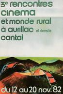 CINEMA 3 EMES RENCONTRES CINEMA ET MONDE RURAL à AURILLAC CANTAL - Andere