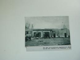 """Origineel Knipsel ( A 245 ) Uit Tijdschrift """" De Stad """"  1933 :    Brand  Gent  Gand - Zonder Classificatie"""