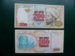 Unc Banknote Kazakhstan 200 Tenge P-20 1999 - Kasachstan