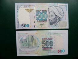Unc Banknote Kazakhstan 500 Tenge P-21 1999 - Kasachstan