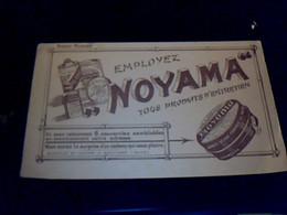 Vieux Papier Publicité Buvard Noyama Cirages,produits D'entretien Usines à Boulogne Seine - B