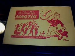 Vieux Papier Publicité Buvard Chaussures _ Martin - B