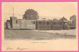 Panissières Le Monorail  * Locomotive à Vapeur  * Chemin De Fer   * Loire 42360 Panissières Arrondissement De Montbrison - Otros Municipios