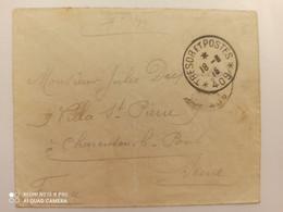 Enveloppe Tresor Et Postes - 409 - Guerra De 1914-18