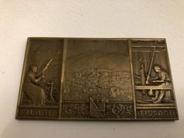 Médaille Alsace Wesserling 1915 - Non Classificati