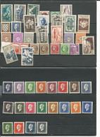 France Yvert Entre 500 Et 710 Et Plus  (30)  Cote 32$ ** 1939-1945 - Ungebraucht