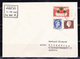 """Kanada; Brief Von Der Wetterstation """"Mould Bay"""" Auf Prince Patrick Island (siehe Beschreibung); B-1415 - Otros"""