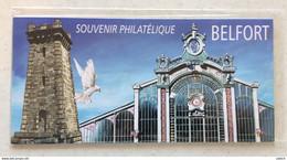 France - Bloc Souvenir Philatélique Belfort YT 89 ** (neuf Avec Encart Sous Blister) - Neuf Sous Blister - Souvenir Blocks