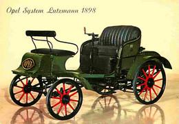 Automobiles - Voitures De Tourisme - Opel System Lutzmann 1898 - Carte Neuve - CPM - Voir Scans Recto-Verso - Turismo