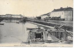85 - Vendee - Luçon - Le Port - Vue Pas Courante CPA Postée En 1919 - Lucon