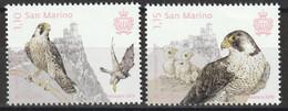 Timbres EUROPA CEPT Saint Marin San Marino Thème Les Oiseaux Birds  De 2019 Y&T N° 2567/2568  Neuf ** Mnh - 2019