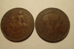 1914 - France - 5 CENTIMES, DUPUIS - C. 5 Centesimi