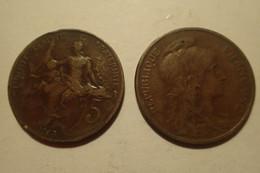 1913 - France - 5 CENTIMES, Dupuis, KM 842, Gad 165 - C. 5 Centesimi