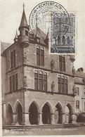 LUXEMBOURG - LUXEMBURG - Maximumkarte 1938  Echternach - Hôtel De Ville - Maximum Cards