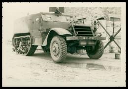 Photo Dentelée - Asie - Viet Nam - Indochine - Guerre D'Indochine - Half Track - Chenille - 9,8 X 6,7 Cm - Oorlog, Militair