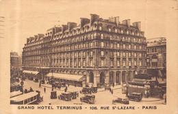 PARIS 8 éme -  Grand Hotel TERMINUS  - 108 , Rue SAINT LAZARE - District 08