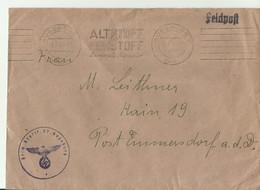 DR CV FELDPOST 1943 - Lettres & Documents