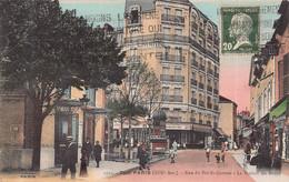 PARIS 19 Eme   - La Rue Du PRE SAINT GERVAIS - La Station De METRO - District 19