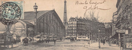 """PARIS  -  2 CARTES """" MIGNONETTES """" Anciennes  - Vélodrome D'  Hiver ( Galerie Des Machines) Et Place De La Concorde - Unclassified"""