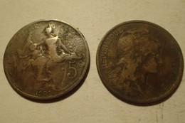 1902 - France - 5 CENTIMES, Dupuis, KM 842, Gad 165 - C. 5 Centesimi