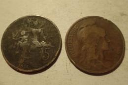 1911 - France - 5 CENTIMES, Dupuis, KM 842, Gad 165 - C. 5 Centesimi
