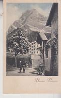 BUONA PASQUA  FROHE OSTERN PAESAGGIO MONTANO EDICOLA CROCE 1935  VG - Pascua