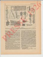 5 Vues Presse 1926 Anatomie Du Parapluie Parapluies + Parfum Service Flacons Vuitton Et Cless Brothier 226CH38 - Unclassified