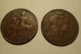 1907 - France - 5 CENTIMES, Dupuis, KM 842, Gad 165 - C. 5 Centesimi