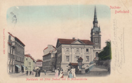 AACHEN / BURTSCHEID / MARKTPLATZ MIT HOTEL NEUBAD  1906 - Aachen