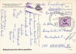 ÖSTERREICH NACHPORTO 1985 - 5 ÖS Nachporto Auf Unfrankierter Ak FIEBERBRUNN Gelaufen V. Fieberbrunn > Korneuburg, T- ... - Segnatasse