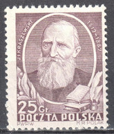 Poland 1952 - Ignacy Kraszewski - Mi 738 - MNH(**) - Ongebruikt