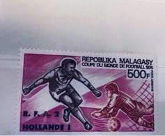 MADAGASCAR 1974 Aerien Neuf ** MNH YT PA 143 Vainqueur Coupe Monde Football Malagasy Madagaskar - Madagascar (1960-...)