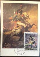 FDC - Officier De Chasseurs à Cheval - Géricault - N°1365 - Cachet De Rouen - 1960-1969