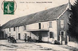 VALAY Haute-Saône) - Rue De La Gare - Maison CHARNE POISSE. - Other Municipalities