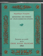 France Scott B385a Carnet 2013 (1)  Cote 3,50$ ** 1964 - Rotes Kreuz