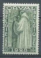 Belgique YT N°260 Moine Ciseleur Série D'Orval Neuf/charnière * - Unused Stamps