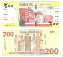 Sudan North - 200 Pounds 2020 UNC Lemberg-Zp - Soedan