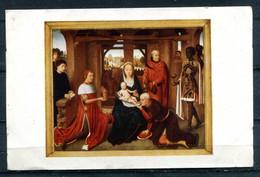 Bruges, Hôpital St-Jean - Hans MEMLING - Panneau Central Du Triptyque : Adoration Des Rois Mages (carte Vierge) - Pintura & Cuadros