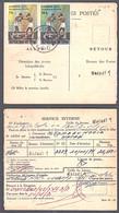 Ca5236 ZAIRE 1975, Boxing Stamps On Matadi Mandat Postal - 1971-79: Gebraucht