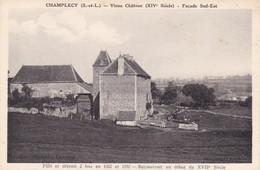 Saône-et-Loire - Champlecy - Vieux Château (XIVe Siècle) - Façade Sud-Est - Other Municipalities