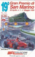 ITALY - 19o Gran Premio Di San Marino, Exp.date 30/06/01, Used - Öff. Werbe-TK