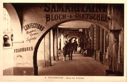 88 REMIREMONT  Sous Les Arcades - Remiremont