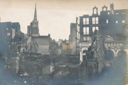 59) LILLE - Carte-Photo : Ruines Après Bombardement - Alhambra - Guerre De 1914/18  1.WK - WW1 (D) - Lille