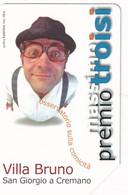 ITALY - Premio Massimo Troisi, Exp.date 30/06/02, Used - Öff. Werbe-TK